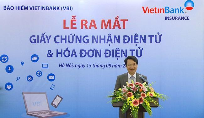 Bảo hiểm Vietinbank (VBI) đã triển khai hóa đơn điện tử E-Invoice