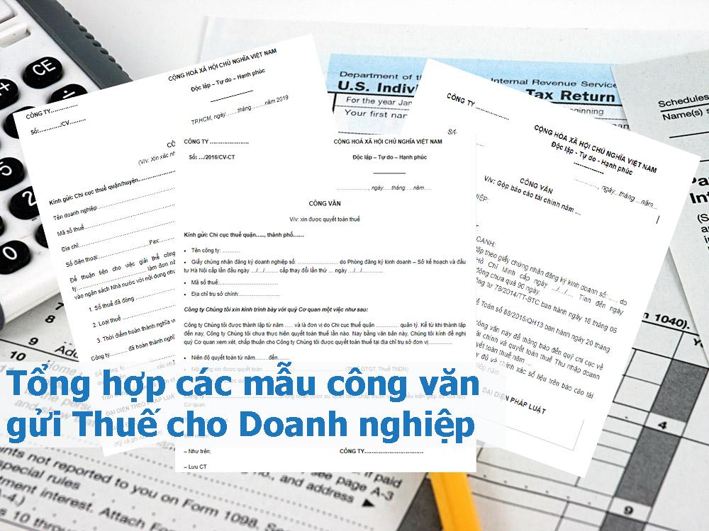 Tổng hợp các mẫu công văn cho Doanh nghiệp
