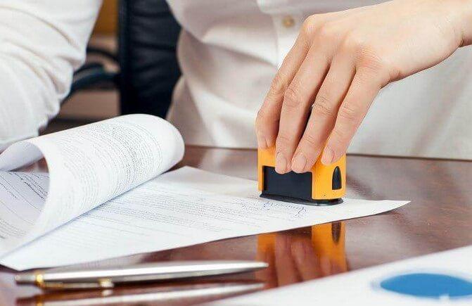 Quy định về dấu trên hóa đơn điện tử