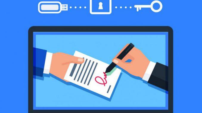 tiêu thức chữ ký số trên hóa đơn điện tử