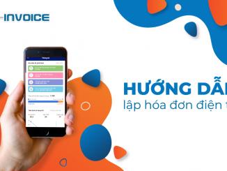 Xuất hóa đơn trên thiết bị di động với app Einvoice
